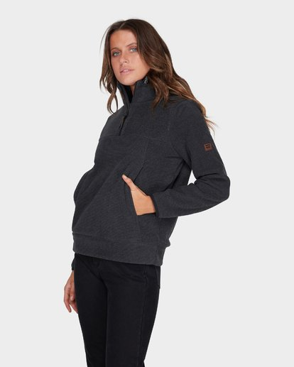 1 BOUNDARY MOCK HALF ZIP FLEECE Black 6595733 Billabong