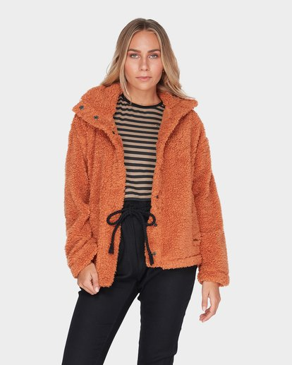 0 COZY DAYS JACKET Brown 6595736 Billabong