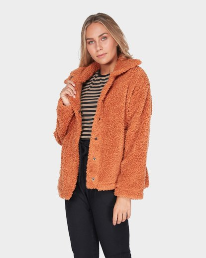 1 COZY DAYS JACKET Brown 6595736 Billabong