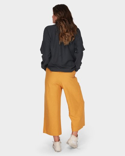 3 FINELINES TRACKPANT Yellow 6595741 Billabong