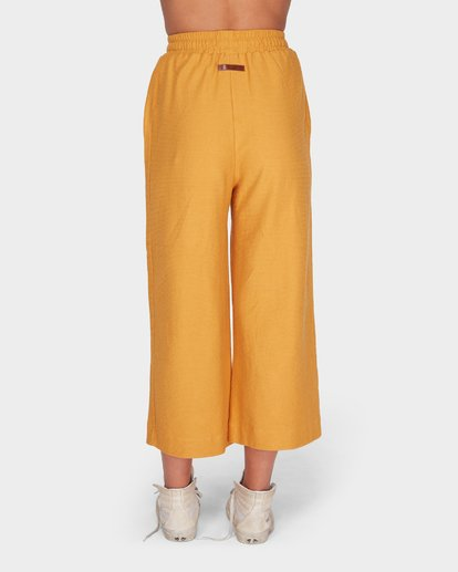 5 FINELINES TRACKPANT Yellow 6595741 Billabong