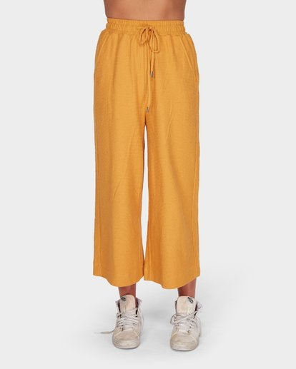 4 FINELINES TRACKPANT Yellow 6595741 Billabong