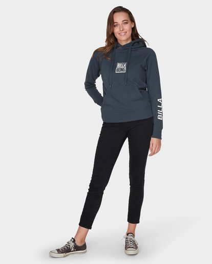 3 DOWN THE LINE POP HOOD Black 6595743 Billabong