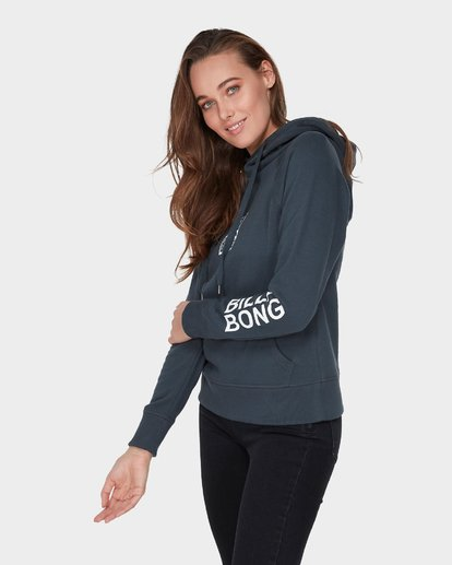 1 DOWN THE LINE POP HOOD Black 6595743 Billabong
