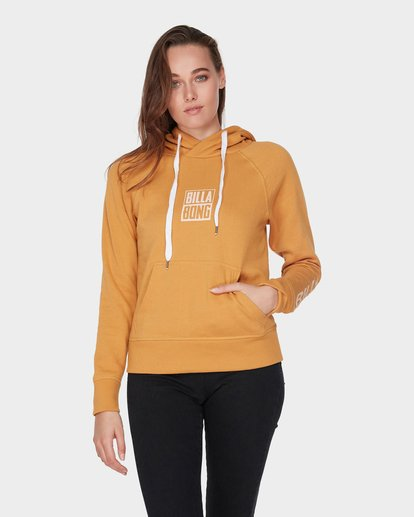 0 DOWN THE LINE POP HOOD Yellow 6595743 Billabong