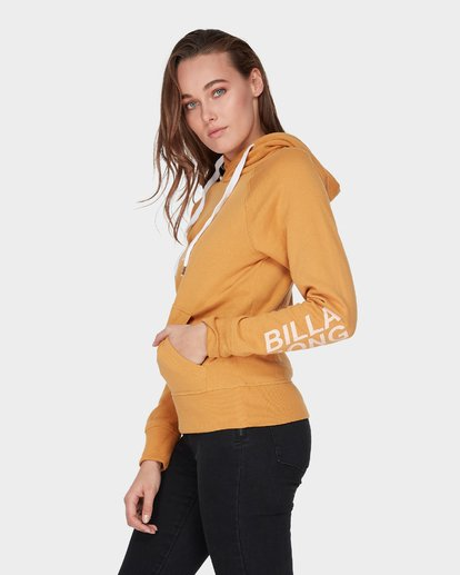 1 DOWN THE LINE POP HOOD Yellow 6595743 Billabong