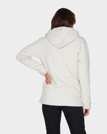 2 KHARLO HOODED FLEECE JACKET Grey 6595751 Billabong