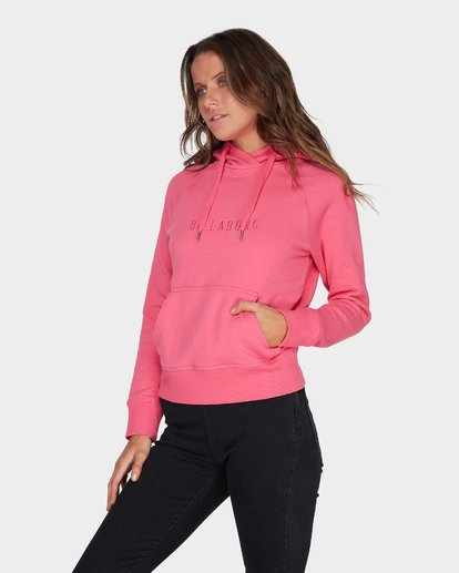 1 VITAL POP HOOD Pink 6595755 Billabong