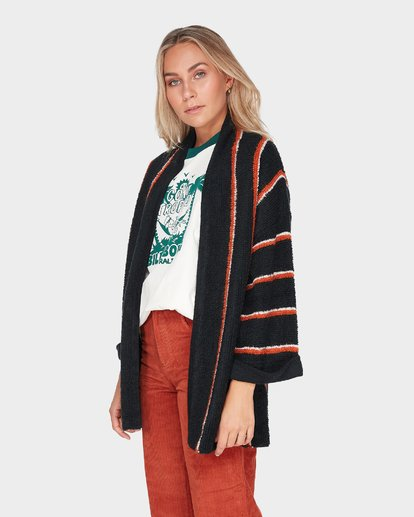 1 HONEY PIE CARDIGAN Black 6595795 Billabong