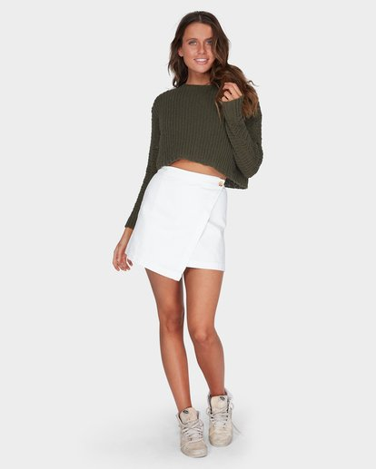 3 Breezeway Knit Crew Green 6595796 Billabong