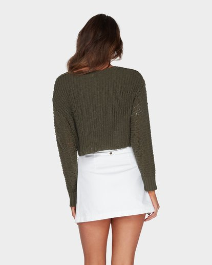 2 Breezeway Knit Crew Green 6595796 Billabong