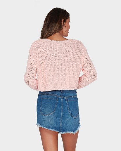 2 BREEZEWAY KNIT CREW Pink 6595796 Billabong