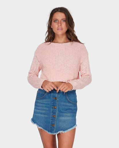 0 BREEZEWAY KNIT CREW Pink 6595796 Billabong