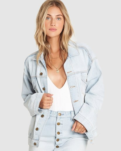 0 NICE TRY JACKET Yellow 6595889X Billabong