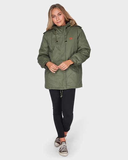 4 WESTWOOD JACKET Green 6595892 Billabong