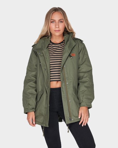1 WESTWOOD JACKET Green 6595892 Billabong