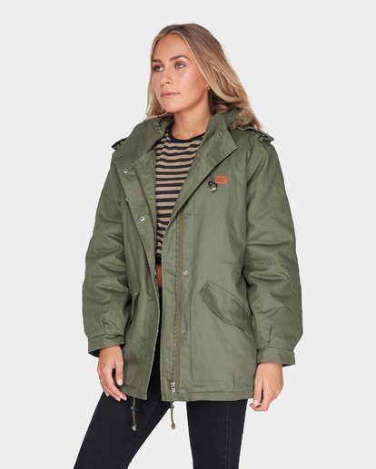 2 WESTWOOD JACKET Green 6595892 Billabong