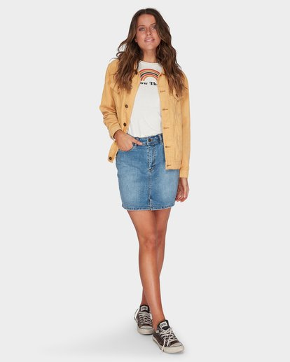 3 Bad Habits Jacket Yellow 6595899 Billabong