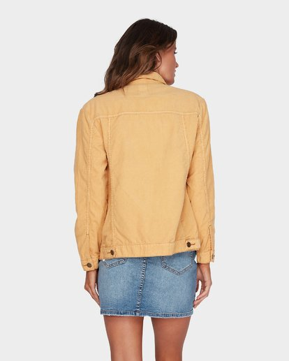 2 Bad Habits Jacket Yellow 6595899 Billabong