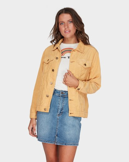 0 Bad Habits Jacket Yellow 6595899 Billabong