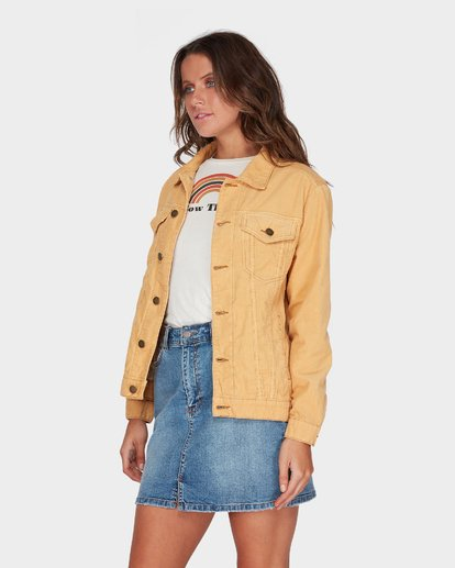 1 Bad Habits Jacket Yellow 6595899 Billabong