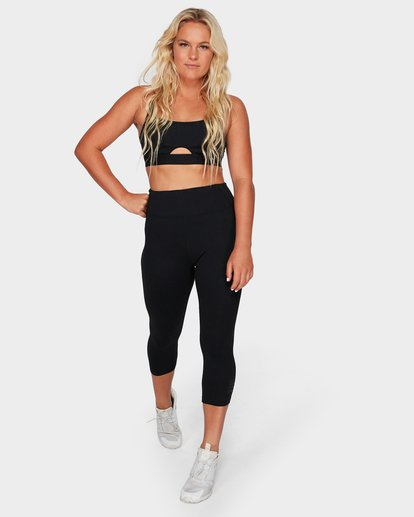 3 Scoop Neck Sports Bra Black 6595925X Billabong