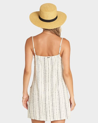 2 STRAIGHT AROUND DRESS White 6595950X Billabong