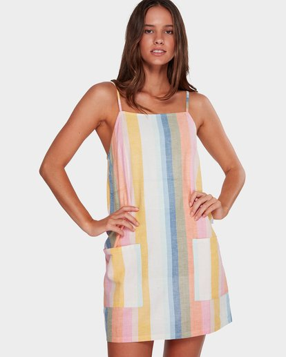 0 STRAIGHT ROUND DRESS  6595951X Billabong