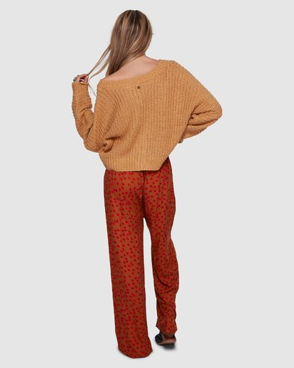 3 Come Back For Me Pant Orange 6596401 Billabong