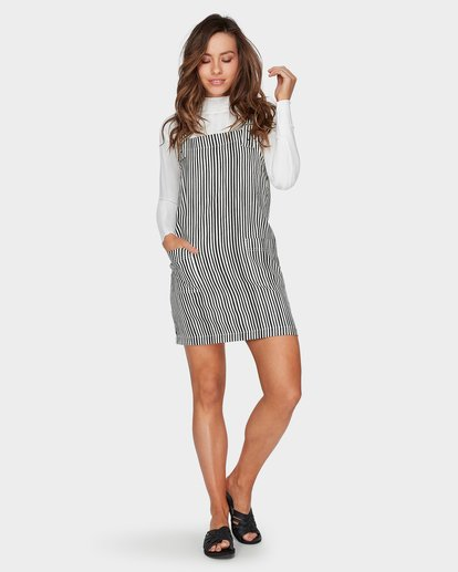 3 In The Mix Dress Black 6596472 Billabong