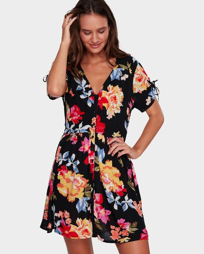 2 Twirl Twist Dress  6596483X Billabong