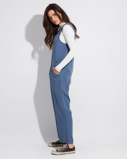 1 DESERT TENCEL JUMPSUIT Blue 6596505 Billabong