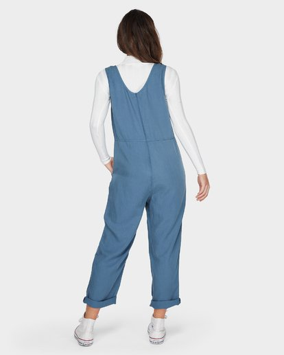 4 DESERT TENCEL JUMPSUIT Blue 6596505 Billabong
