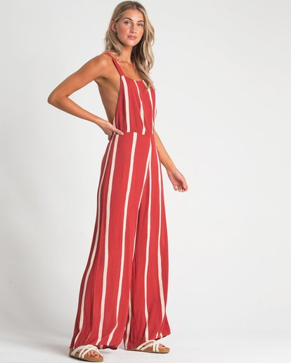 1 STILL HERE JUMPSUIT Red 6596507X Billabong