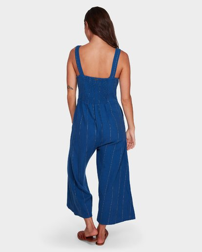 2 PAINT THE TOWN JUMPSUIT Blue 6596520X Billabong