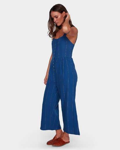 1 PAINT THE TOWN JUMPSUIT Blue 6596520X Billabong