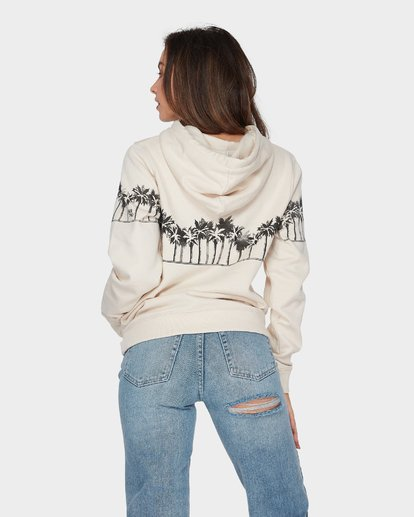 2 COAST TO COAST POP HOOD White 6596734 Billabong