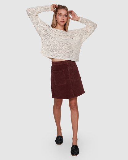 4 CHILL OUT KNIT White 6596794X Billabong