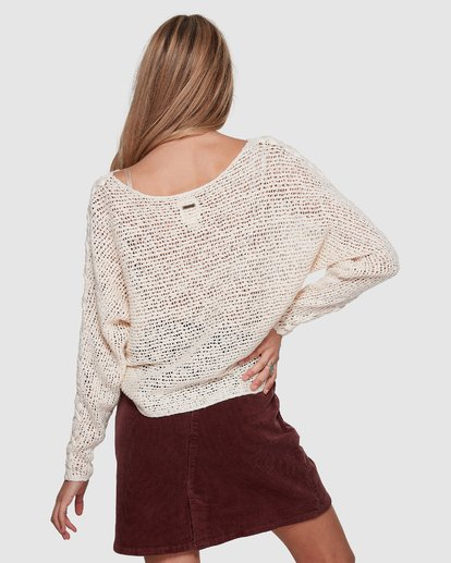 1 CHILL OUT KNIT White 6596794X Billabong