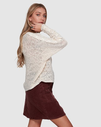 2 CHILL OUT KNIT White 6596794X Billabong