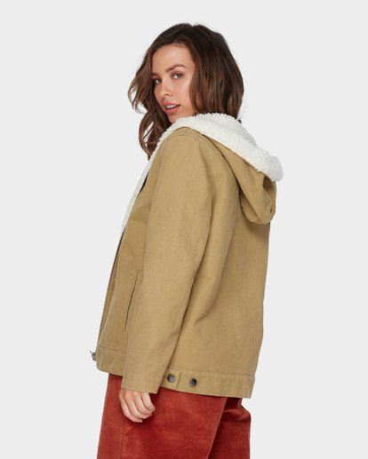 4 YOUNG GUN JACKET Beige 6596891 Billabong
