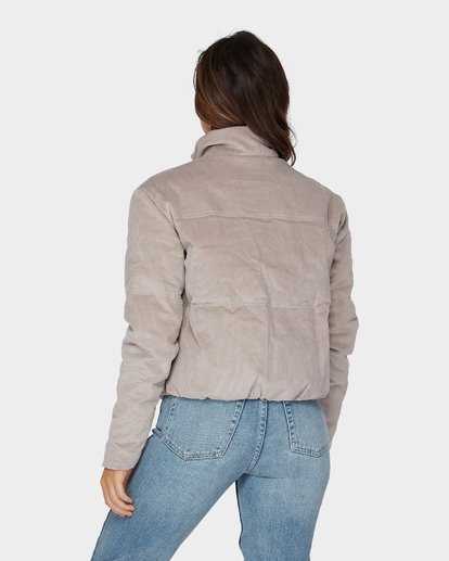 4 DESERT CORD PUFFA JACKET Brown 6596894 Billabong