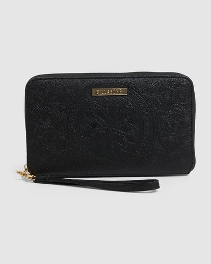 0 Crystal Skies Wallet Black 6603207 Billabong