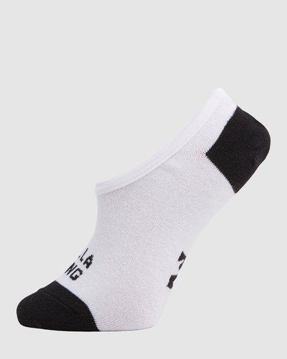 1 Stacked Invisible 5 Pack of Socks Black 6603703 Billabong