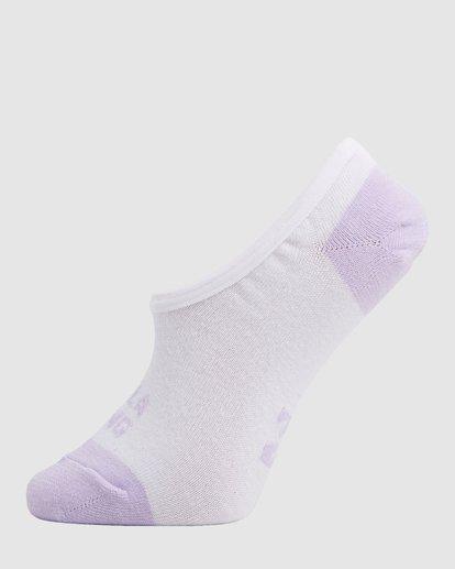 2 Stacked Invisible 5 Pack of Socks Black 6603703 Billabong