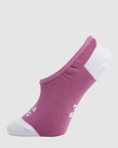 3 Stacked Invisible 5 Pack of Socks Black 6603703 Billabong