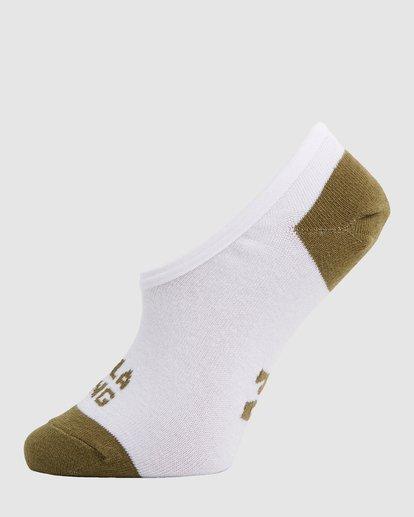 4 Stacked Invisible 5 Pack of Socks Black 6603703 Billabong