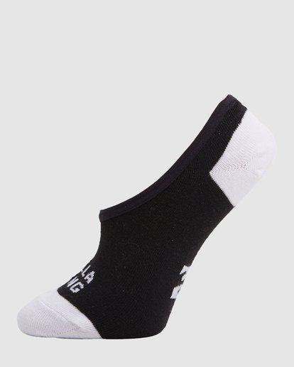 5 Stacked Invisible 5 Pack of Socks Black 6603703 Billabong