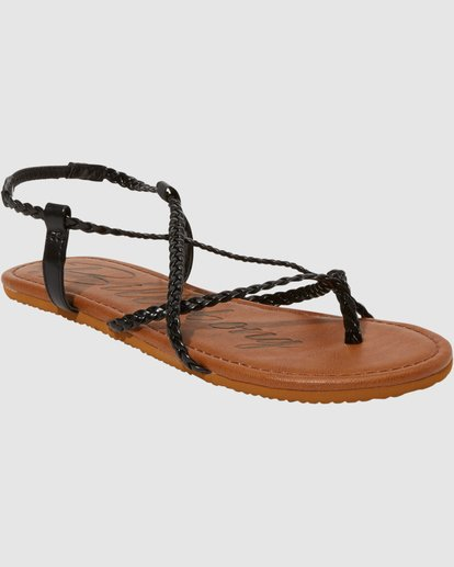 1 Crossing Over 3 Sandals Black 6603815 Billabong