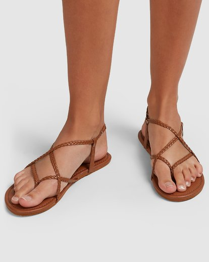 7 Crossing Over 3 Sandals Beige 6603815 Billabong